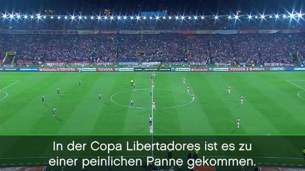 Copa Libertadores: Schweigeminute für Lebenden
