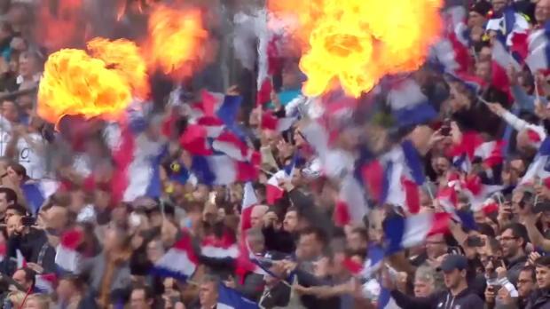 Frankreich - England