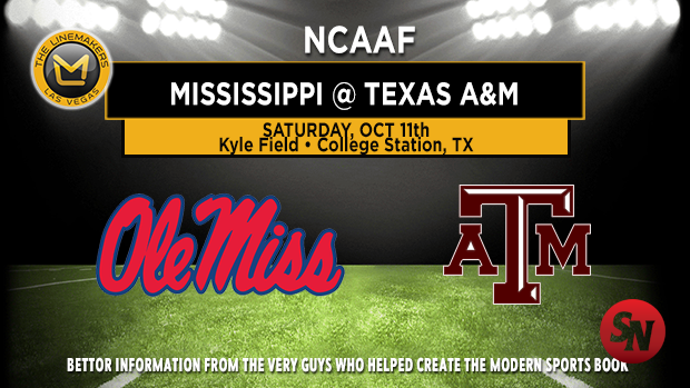 Ole Miss Rebels @ Texas A&M Aggies