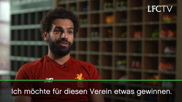 """Salah: """"Ich will für Liverpool Titel gewinnen"""""""