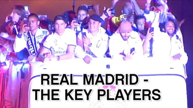 كرة قدم: الدوري الإسباني: ريال مدريد- اللاعبون المؤثرون في توليفة الميرينغي