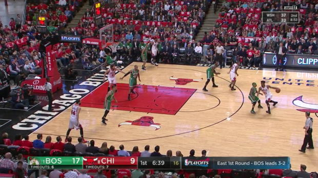 WSC: Head-to-head:More than 20 points of Avery Bradley, Jimmy Butler in Boston Celtics vs. the Bulls, 4/28/2017