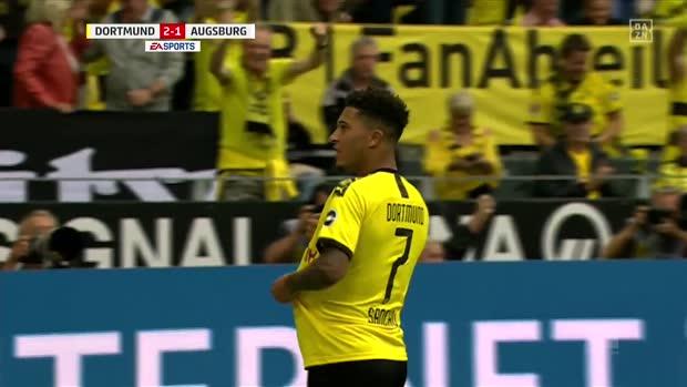 Pfeilschnell & Treffsicher! Die besten Tore von BVB-Juwel Jaden Sancho