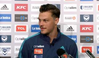 Melbourne Victory defender James Donachie is looking to keep his spot in the club's starting XI.