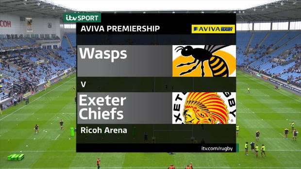 Aviva Premiership - Match Highlights - Wasps v Exeter Chiefs