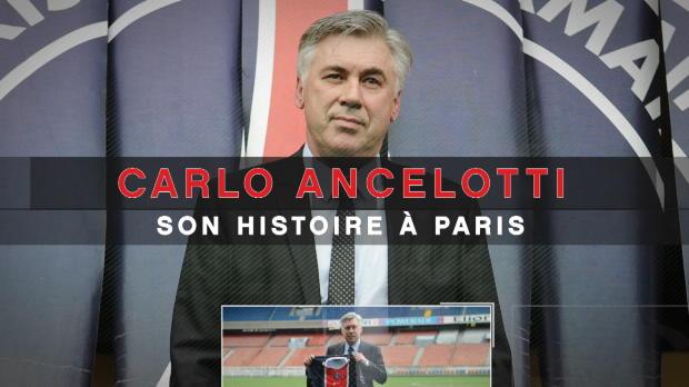 Groupe C - Ancelotti, son histoire à Paris