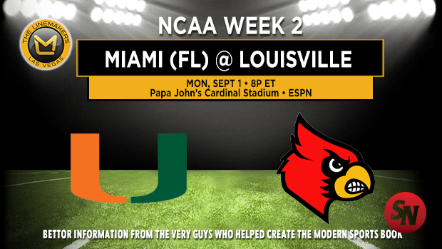 Miami (FL) at Louisville