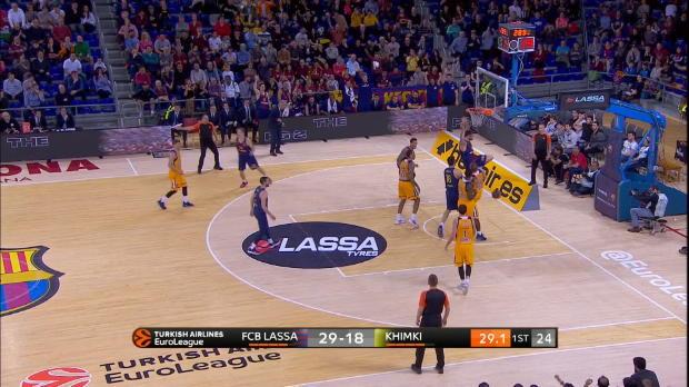 Basket : Euroligue (30e j.) - Le magnifique dunk de Moerman