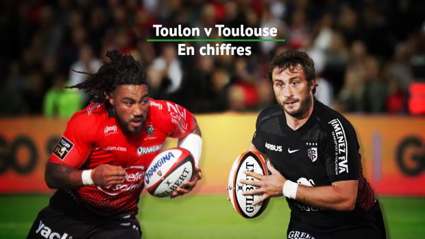 Top 14 - 3e j. : Toulon v Toulouse en chiffres