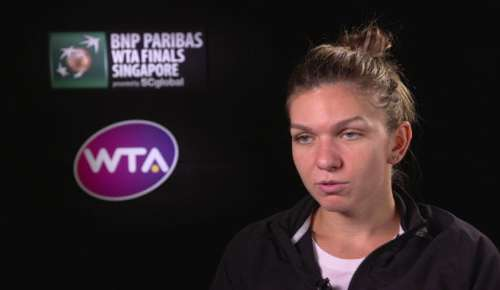 Halep Interview: WTA Singapore RR