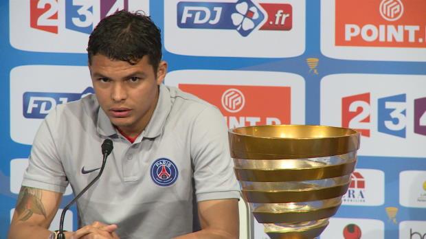 CDL - Finale, PSG, Thiago Silva : 'Nous avons �t� affect�s'