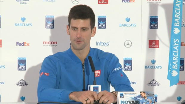 """London: Djokovic mit """"schönstem Abschluss"""""""