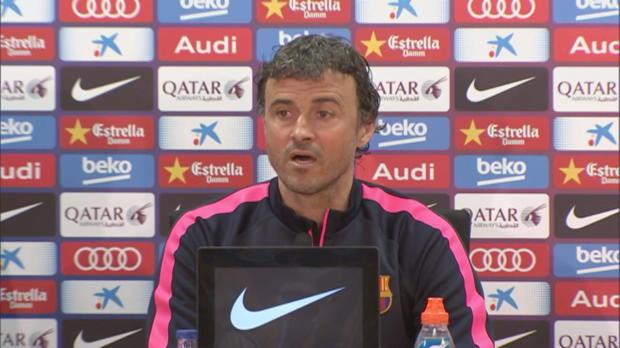 """Enrique: """"War die Entscheidung von Messi"""""""