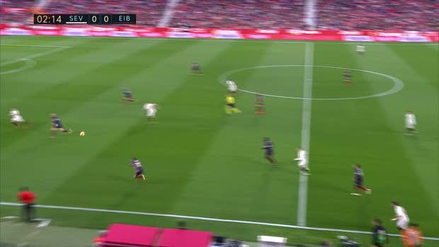 La Liga: FC Sevilla - Eibar | DAZN Highlights