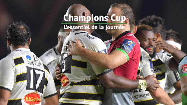 Rugby : Champions Cup - 1ère j. - L'essentiel de la journée