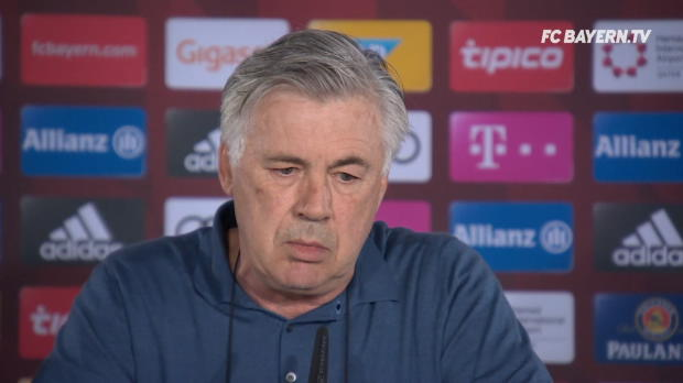 "Ancelotti: Tabellenführung? ""Druck ist immer"""