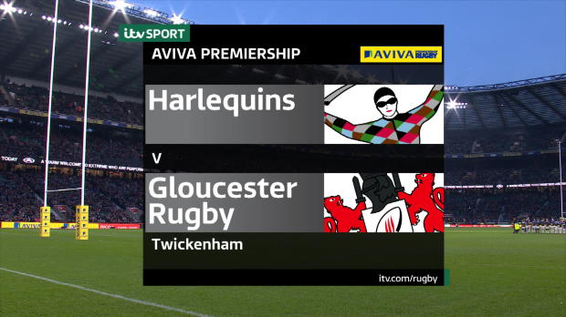 Aviva Premiership - Match Highlights - Harlequins v Gloucester Rugby