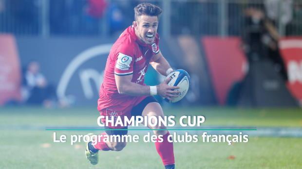 Rugby : 2e j. - Le programme des clubs français
