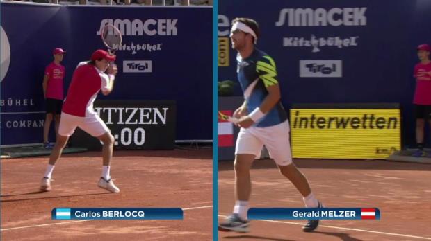 ATP Kitzbühel: G. Melzer - Berlocq