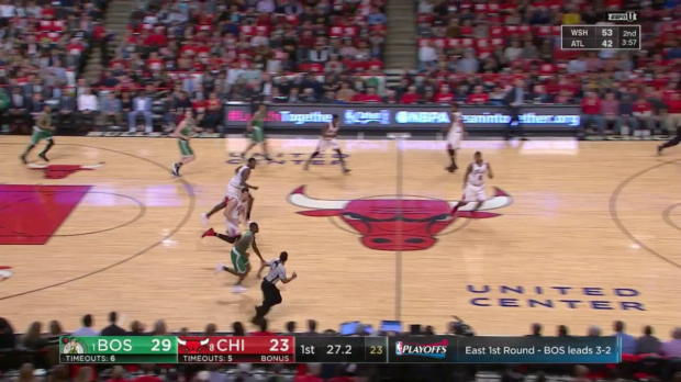 WSC: Highlights: Paul Zipser (7 points) vs. the Celtics, 4/28/2017