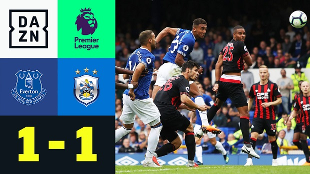 Premier League: Everton - Huddersfield | DAZN Highlights