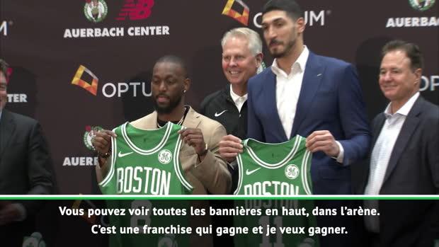 """Basket : Celtics - Kemba Walker - """"Je suis venu pour gagner"""""""