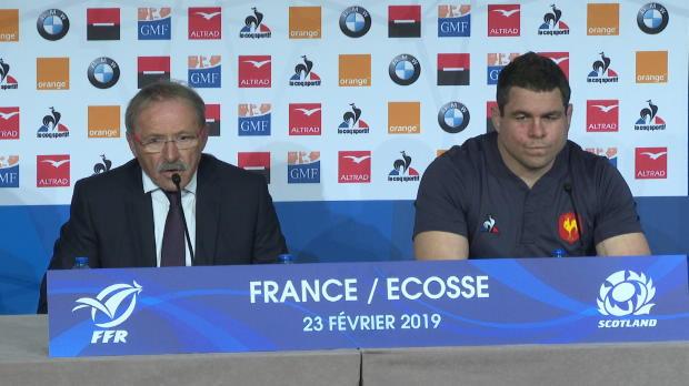 XV de France - Brunel - 'Il fallait montrer une unité'