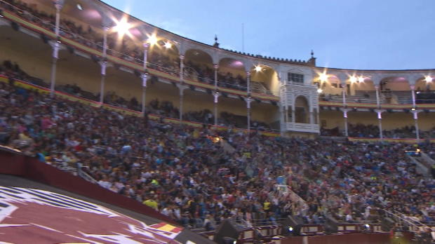 Freestyle-Motocross: X-Fighters-Show in Madrid