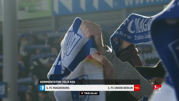 2. Bundesliga: 1. FC Magdeburg - 1. FC Union Berlin | DAZN Highlights