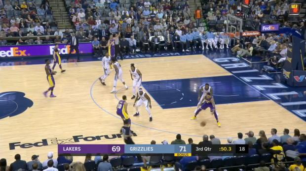 GAME RECAP: Lakers 100, Grizzlies 93