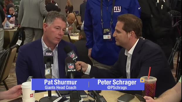 New York Giants head coach Pat Shurmur: 'Odell is an outstanding player, but it's business'