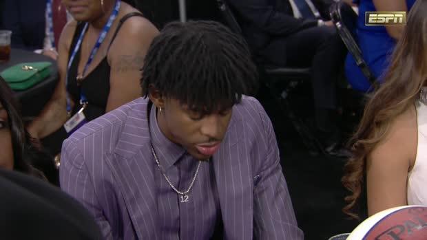 NBA Draft Round 1, Pick 2: Ja Morant