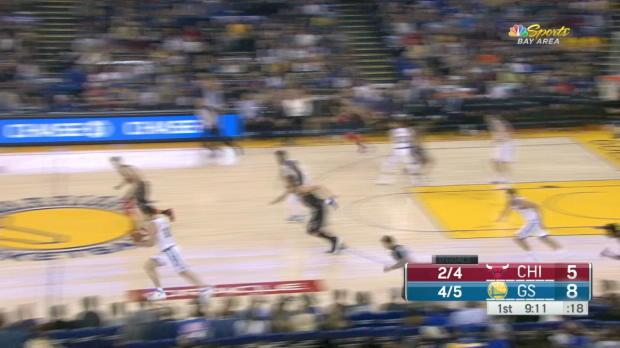 GAME RECAP: Warriors 143, Bulls 94