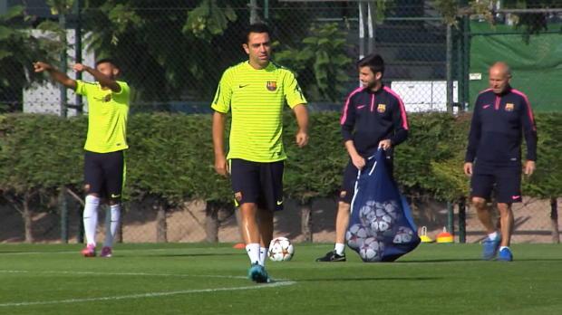 """Xavi verlässt Barca: """"Jetzt noch zwei Titel"""""""