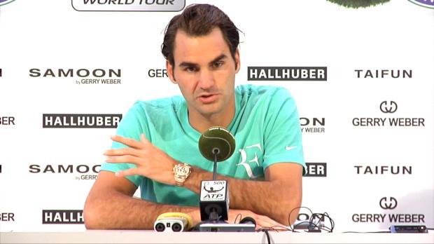 """Halle: Federer: """"Super Omen für Wimbledon"""""""