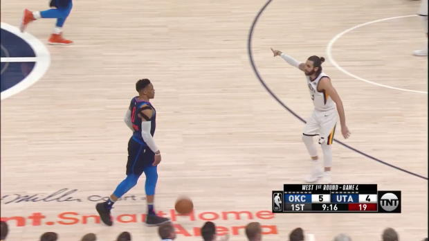WSC: Russell Westbrook 23 points vs the Jazz
