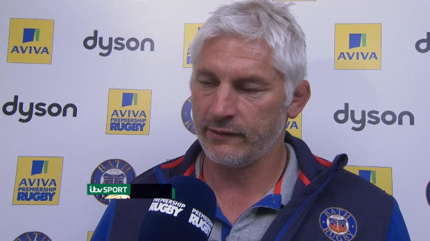 Aviva Premiership - Todd Blackadder speaking after his sides victory over Worcester Warriors at the Rec.