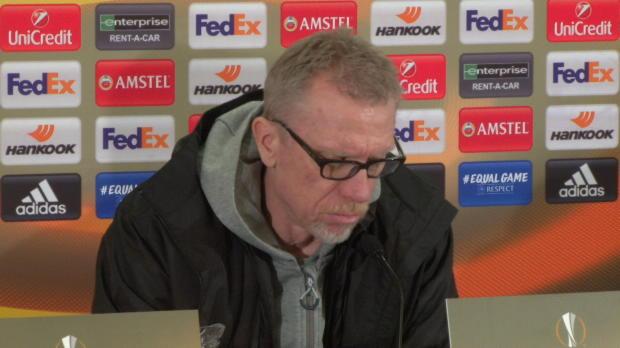 """Stöger enttäuscht: """"Haben nahezu nichts gezeigt"""""""