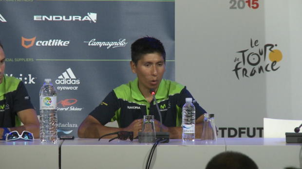 "Tour de Francia - Quintana: ""Mi principal arma es mi equipo"""
