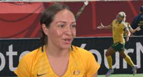 Proud western Sydney girl Kyah Simon is excited to be playing Brazil in Penrith, close to where she was raised as a young girl.