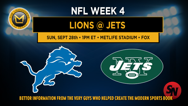 Detroit Lions @ New York Jets