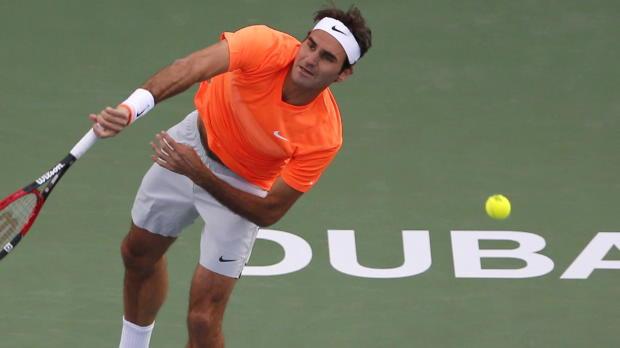 """Dubai: Federer: """"Bin überrascht von mir"""""""