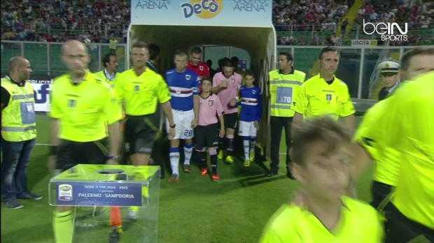 Serie A : Palerme 1-1 Sampdoria