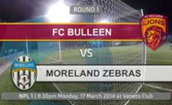 Check out all the highlights from the Round 1 NPLVIC clash between FC Bulleen Lions and the Moreland Zebras.