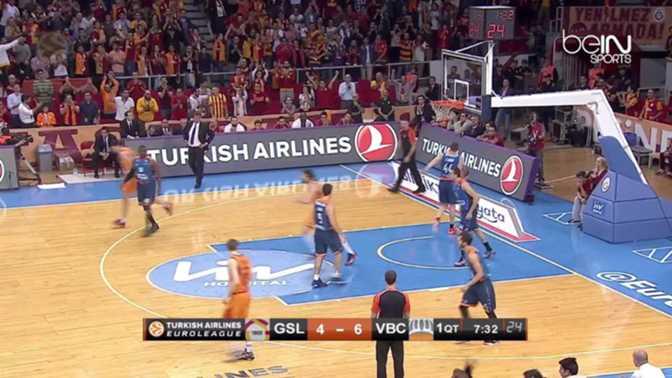 EL : Galatasaray 71-64 Valence