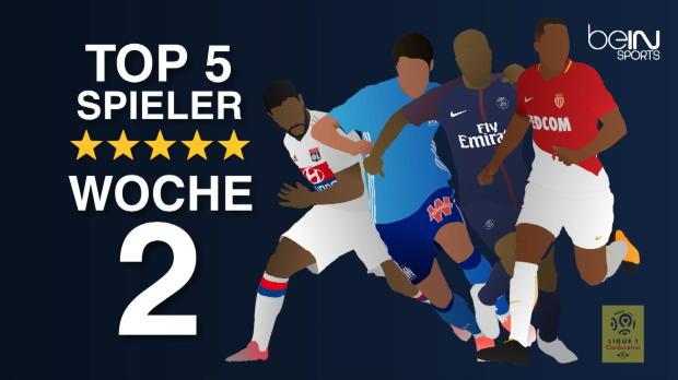 Top-5-Spieler der zweiten Woche