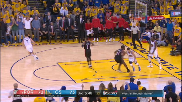 Block of the Night - Draymond Green