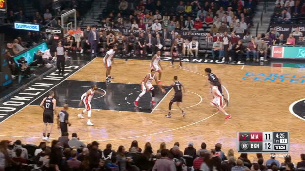 GAME RECAP: Nets 101, Heat 95