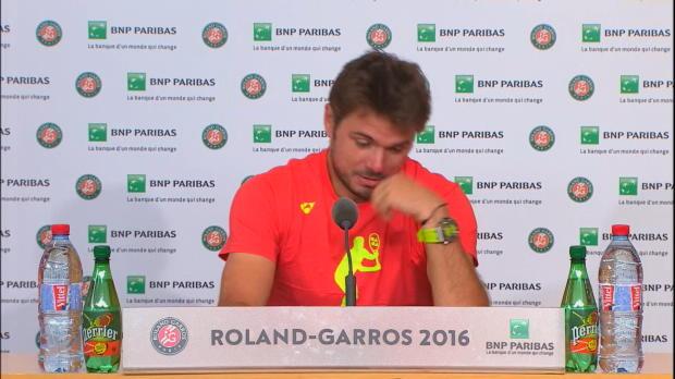 French Open: Wawrinka hadert mit Bedingungen