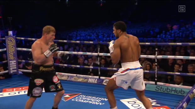 Boxen: Anthony Joshua vs. Alexander Povetkin
